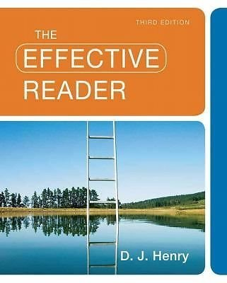 9780205828265: Effective Reader, The (3rd Edition) INSTRUCTOR'S EDITION