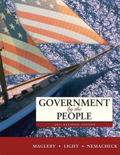 9780205828401: Government by the People, 2011 National Edition (24th Edition)