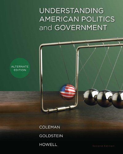 9780205829347: Understanding American Politics and Government, Alternate Edition (2nd Edition)