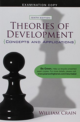 9780205829385: Theories of Development (Concepts and Applications) 6th Edition (Examination Copy)