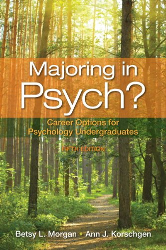 9780205829583: Majoring in Psych?: Career Options for Psychology Undergraduates (5th Edition)