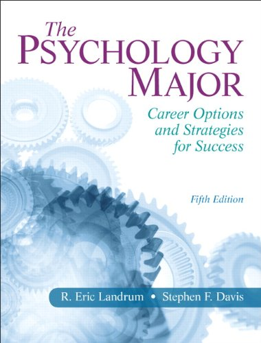 9780205829651: The Psychology Major: Career Options and Strategies for Success (5th Edition)