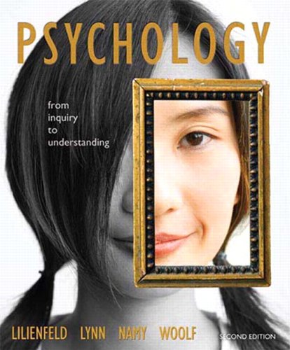 9780205832064: Psychology: From Inquiry to Understanding