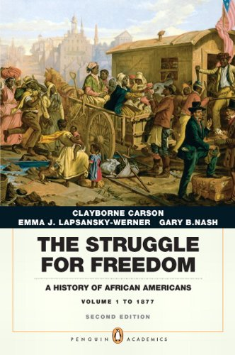 9780205832422: The Struggle for Freedom: A History of African Americans, Concise Edition, Volume 1 (Penguin Academic Series) (2nd Edition)