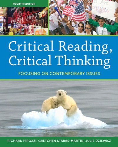 9780205835225: Critical Reading Critical Thinking: Focusing on Contemporary Issues (4th Edition) (Myreadinglab)