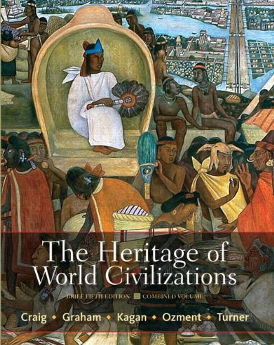 9780205835492: The Heritage of World Civilizations: Brief Edition, Combined Volume (5th Edition)