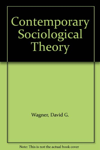 9780205836246: Contemporary Sociological Theory