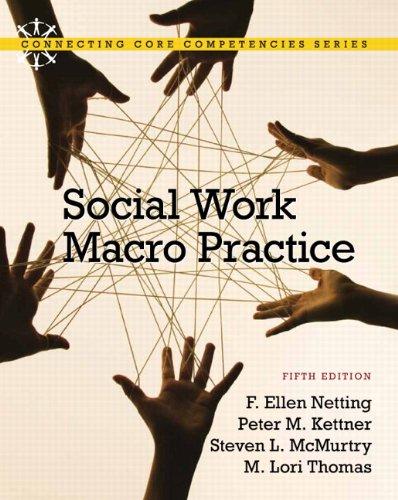 Social Work Macro Practice (5th Edition): Netting, F. Ellen;