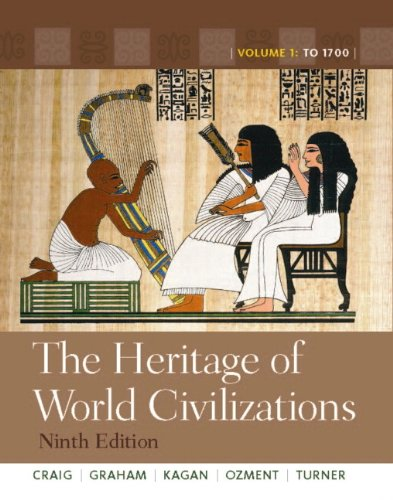 9780205839032: The Heritage of World Civilizations: Volume 1, Books a la Carte Edition (9th Edition)