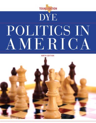 9780205840380: Politics in America, Texas Edition (9th Edition)