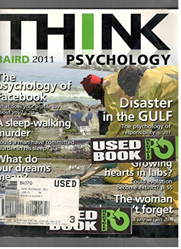 9780205842025: Think Psychology