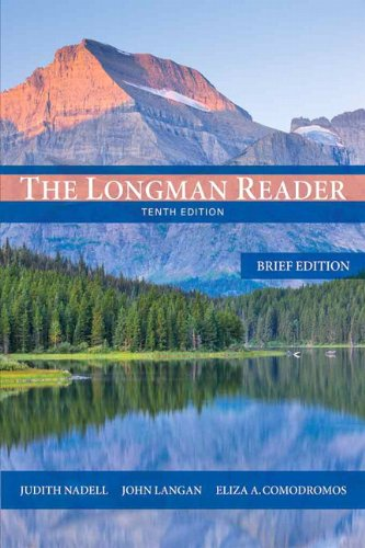 9780205842780: The Longman Reader: Brief Edition (10th Edition)