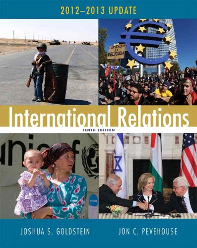 9780205844029: International Relations, 2012-2013 Update Plus MyPoliSciLab with eText -- Access Card Package (10th Edition)