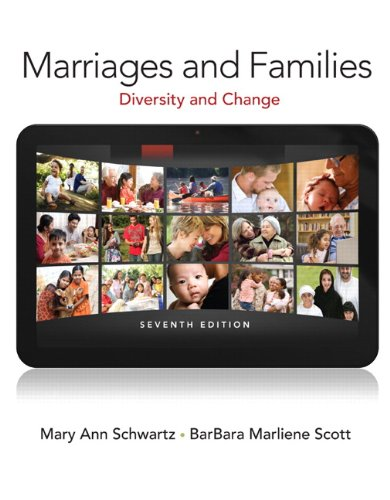 9780205845309: Marriages and Families (7th Edition)