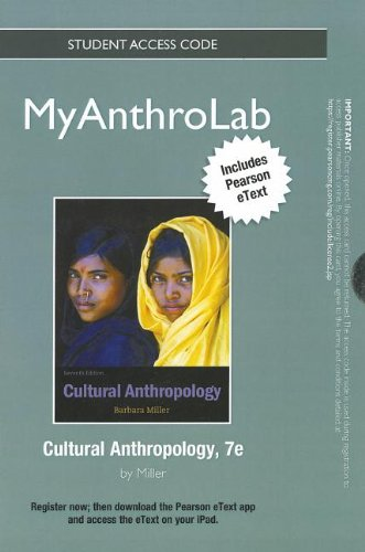 9780205846641: NEW MyAnthroLab with Pearson eText -- Standalone Access Card -- for Cultural Anthropology (7th Edition) (Myanthrolab (Access Codes))