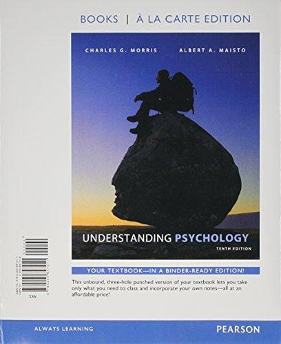 understanding psychology casebound 9th edition