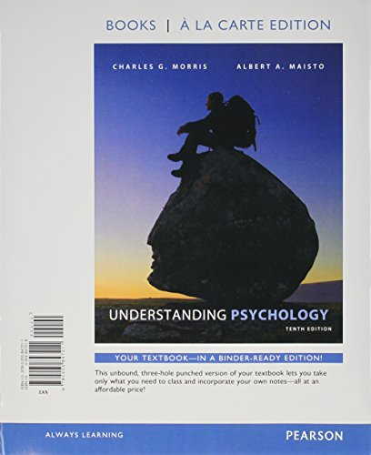 9780205847211: Understanding Psychology, Books a la Carte Edition (10th Edition)