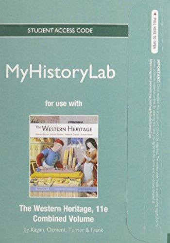9780205847457: NEW MyHistoryLab without Pearson eText -- Standalone Access Card -- for The Western Heritage (11th Edition)