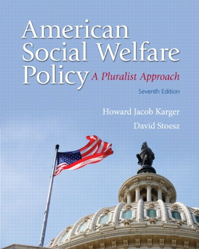 9780205848973: American Social Welfare Policy: A Pluralist Approach (7th Edition)