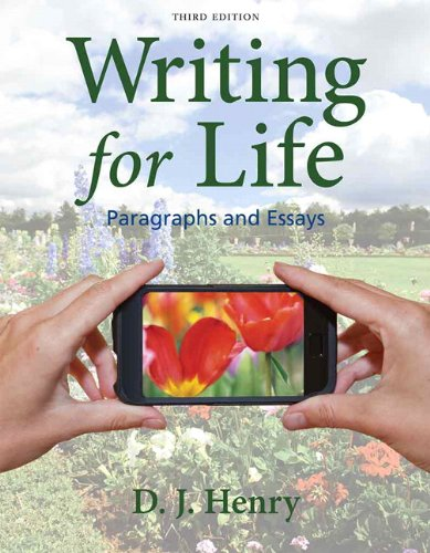 9780205850259: Writing for Life: Paragraphs and Essays