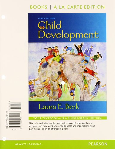 9780205854363: Child Development, Books a la Carte Plus NEW MyDevelopmentLab with eText -- Access Card Package (9th Edition)