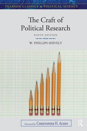 9780205854622: The Craft of Political Research (Pearson Classics in Political Science)