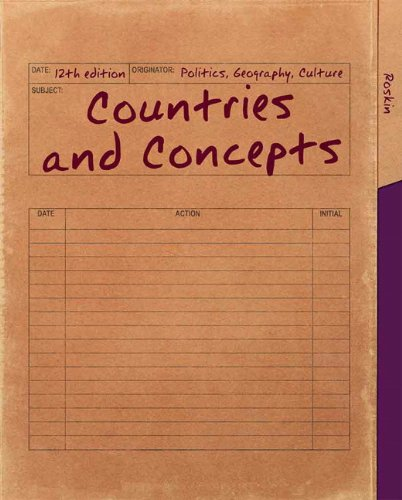 9780205854653: Countries and Concepts: Politics, Geography, Culture (12th Edition)