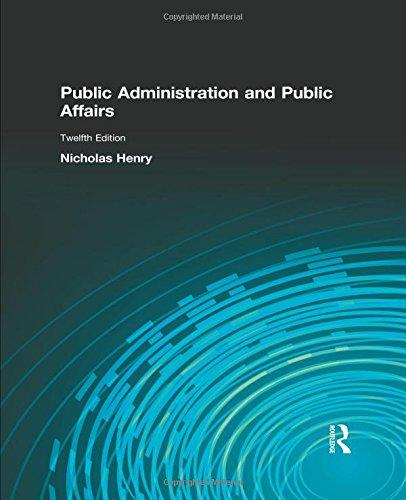 9780205855865: Public Administration & Public Affairs