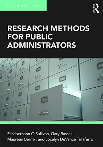 9780205856251: Research Methods for Public Administrators