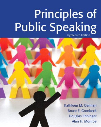 9780205857548: Principles of Public Speaking Plus NEW MyCommunicationLab -- Access Card Package (18th Edition)