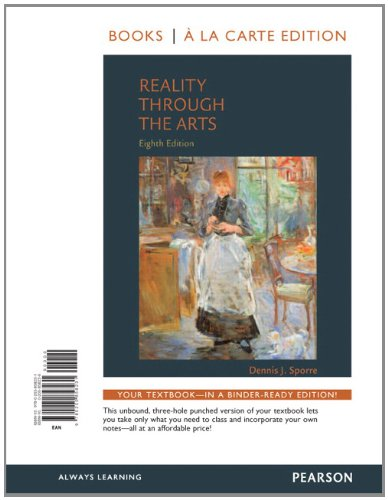 9780205858231: Reality Through the Arts, Books a la Carte Edition (8th Edition)