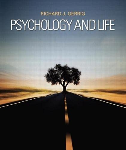 9780205859139: Psychology and Life: (20th Edition)
