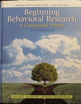 9780205859382: Beginning Behavioral Research: A Conceptual Primer (Instructor's Review Copy)