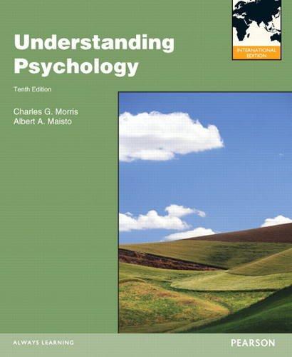 Understanding Psychology: Charles G. Morris