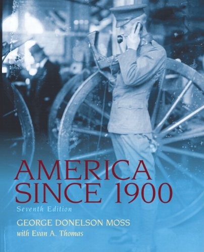 9780205860586: America Since 1900 Plus MySearchLab with eText -- Access Card Package (7th Edition)