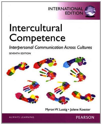 9780205861767: Intercultural Competence