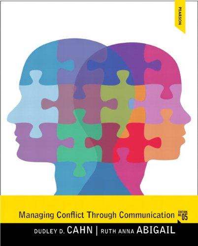 9780205862139: Managing Conflict through Communication (5th Edition)