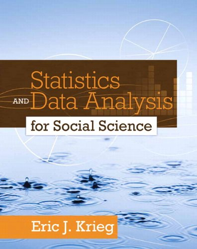 9780205863655: Statistics and Data Analysis for Social Science Plus MySearchLab with eText -- Access Card Package