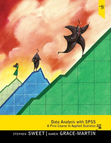9780205863723: Data Analysis with SPSS: A First Course in Applied Statistics