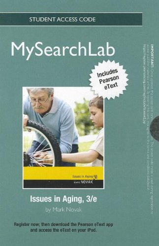 9780205867288: MySearchLab with Pearson eText -- Standalone Access Card -- for Issues in Aging (3rd Edition) (MySearchLab (Access Codes))