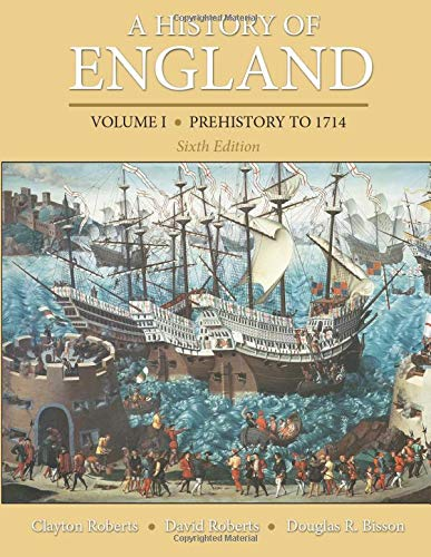 9780205867776: A History of England, Volume 1: Prehistory to 1714