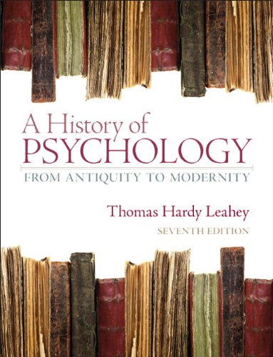 9780205868629: A History of Psychology: From Antiquity to Modernity Plus MySearchLab with eText -- Access Card Package (7th Edition)