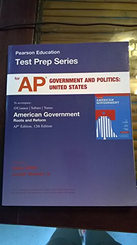 9780205870462: AP* Test Prep for American Government: Roots and Reform