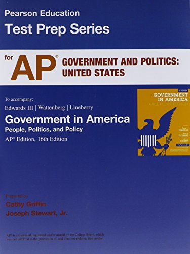 9780205870479: AP* Test Prep Workbook for Government in America: People, Politics, and Policy