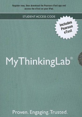 9780205871759: NEW MyThinkingLab without Pearson eText -- ValuePack Access Card