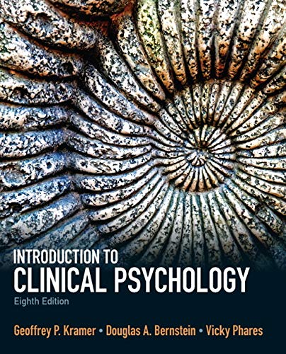 9780205871858: Introduction to Clinical Psychology (8th Edition)