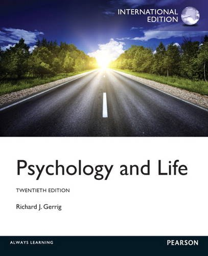 9780205873272: Psychology and Life