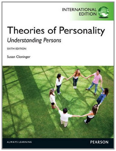 9780205873357: Theories of Personality: Understanding Persons