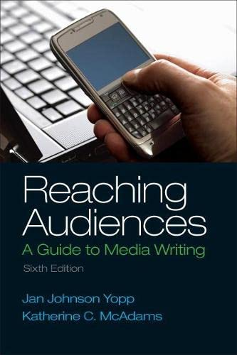 9780205874378: Reaching Audiences (6th Edition)