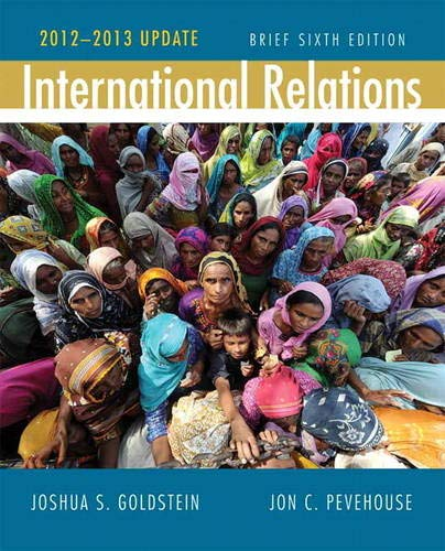 9780205875238: International Relations, Brief Edition, 2012-2013 Update (6th Edition)